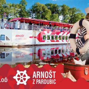 Loď Arnošt z Pardubic 30. května vyplouvá