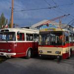 Jízdy historických trolejbusů 1.8.2021