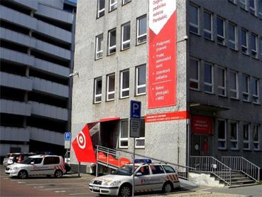 Zákaznické centrum v Pernerově ulici