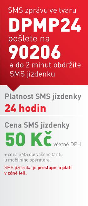 SMS24 jízdenka